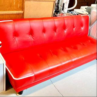 しっかり素材のソファベッド