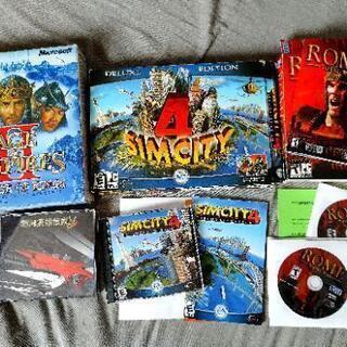 シムシティ4、Total War Rome, エイジオブエン...