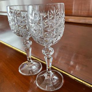 新品。未使用。BOHEMIA GLASS ワイン ペアセッ…