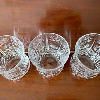 ボヘミア グラス 3個セット