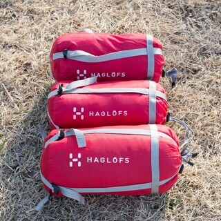 Haglofs(ホグロフス)シュラフ3セット寝袋 キャンプ
