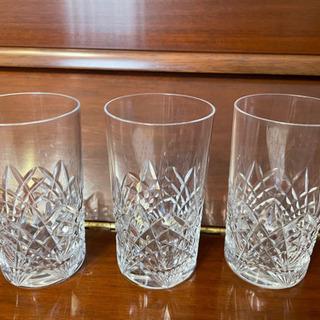 ボヘミア グラス 3個 セット