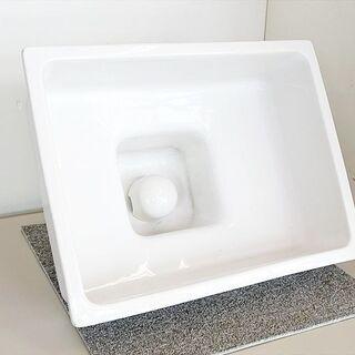 山口)下松市より 東洋陶器(TOTO) 昭和レトロ 手洗い台 洗...