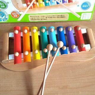 子供用  知育玩具  鉄琴