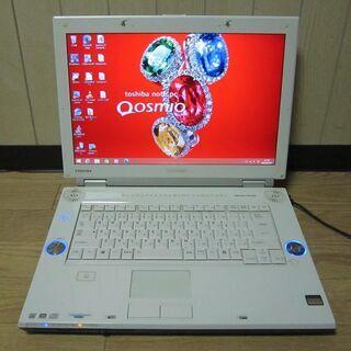 地デジTV搭載PC 東芝Qosmio F40/86G