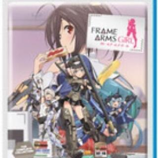 【ネット決済・配送可】新品北米製Blu-ray フレームアームズガール