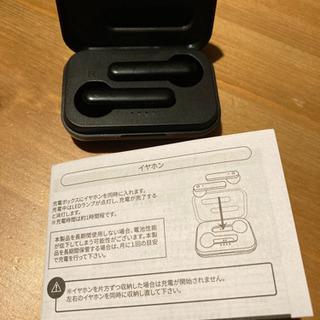 【値下げ】3coins ワイヤレスイヤホン 黒 - 家電