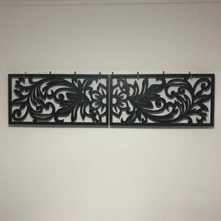 バリ雑貨 木製アートパネル