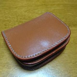 革の財布が好きで、、、