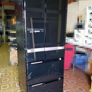 【ネット決済】大容量!  日立 冷凍冷蔵庫 R-C5200 真空...