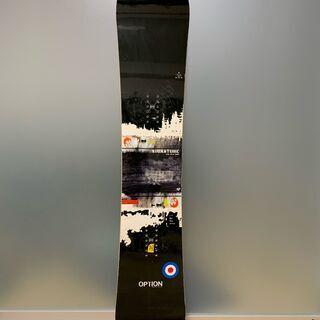 スノーボード 154cm オプション・シグネーチャー/OPTIO...