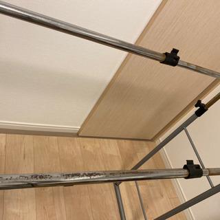 ハンガーラック サイズ調整可能 - 家具