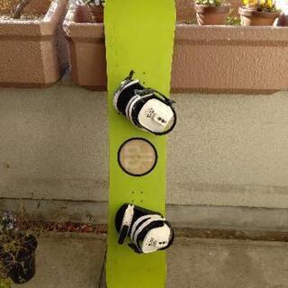 スノーボード 板 全長約1450mm サンタクルーズ ビンディン...