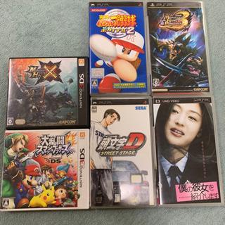3DS&PSPソフト