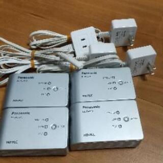 電力線ネットワークアダプター(Panasonic PLC BL-...