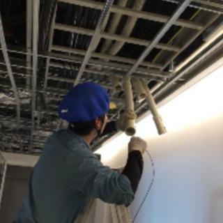一般電気工事、空調設備工事
