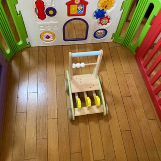 子ども用品 赤ちゃんゲージ 手押し車の画像