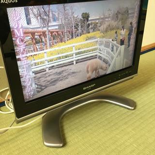 SHARP 液晶テレビ 日本製 B-CAS有 16インチ