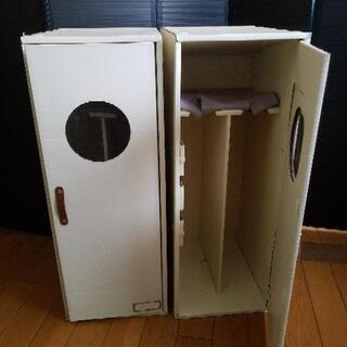 ロングブーツ収納ケース 二箱(4足分)☆譲ります