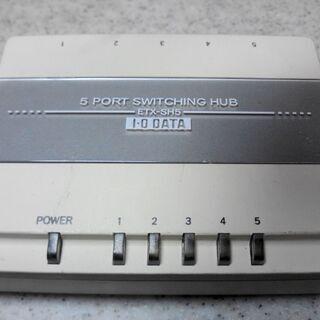I-O DATA スイッチングハブ 5ポート