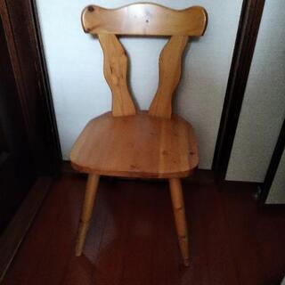 パイン材 椅子