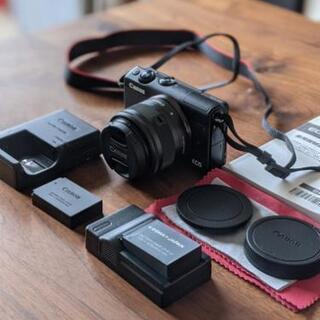 美品 Canon EOS M100 レンズset 黒 キャノン ...