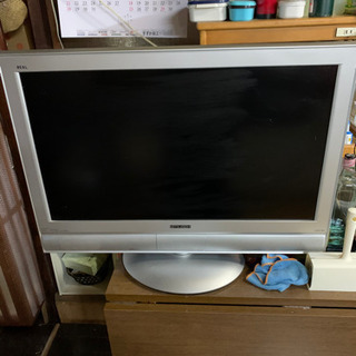 子供部屋のTVです。少々古いですがまだまだ見れます!