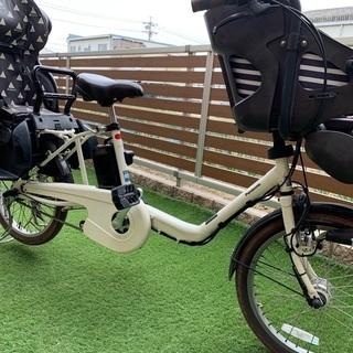 【ネット決済】パナソニック電動アシスト自転車 3人乗り 子供乗せ