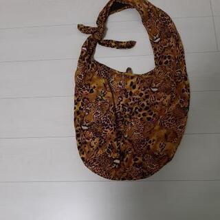 布製バッグ アニマル柄