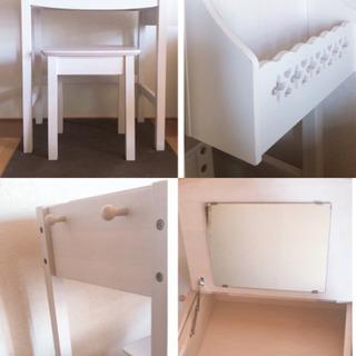 メイク台 化粧品収納ボックス