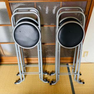 【ネット決済】折りたたみ椅子 4つセット