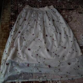 花柄スカート ロングスカート PAGEBOY