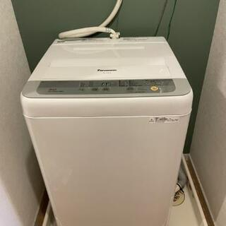 【美品】Panasonic 洗濯機 5kg