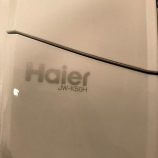 お取引先決まりました。格安 洗濯機 Haier ハイアール JW-K50H 縦型 2014年 - 家電