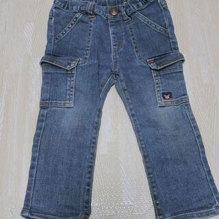 【値下げしました】子ども服 ダブルビー 子ども用ジーンズ 90cm