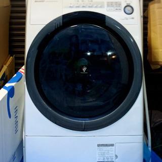 SHARPドラム式洗濯乾燥機 2018年式