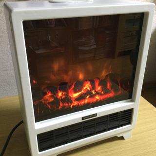 ■配達可■暖炉型ファンヒーター 電気ファンヒーター 暖炉 薪スト...