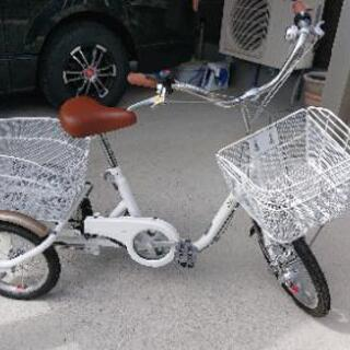 【ネット決済・配送可】◆大人用◆三輪自転車(三輪車)☆新品☆
