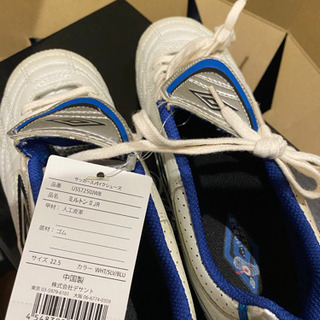 新品UMBROサッカースパイクシューズ 22、5センチ - 靴/バッグ