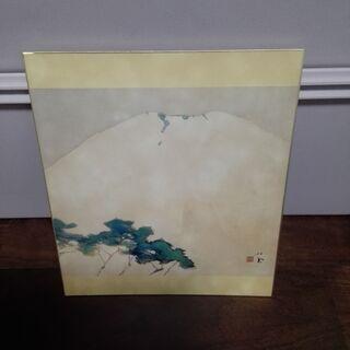 竹内栖鳳の色紙3点セット