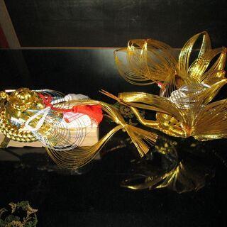 【祝用】鶴&亀 。桐製 寿恵廣の箱(5個まとめて)