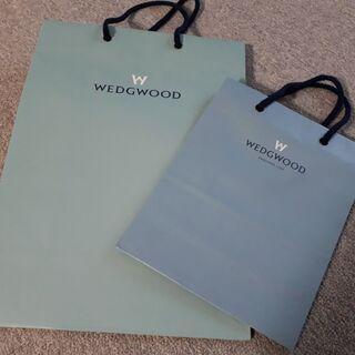 【ブランドショップ紙袋】WEDGWOOD(ウエッジウッド)