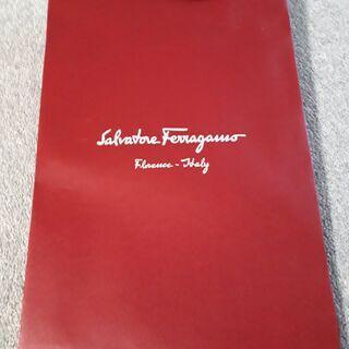 【ブランドショップ紙袋】Ferragamo(サルヴァトーレ フェ...