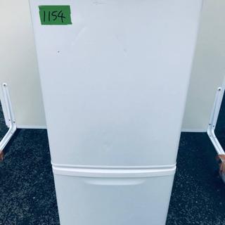 ②1154番 Panasonic ✨ノンフロン冷凍冷蔵庫✨NR-...