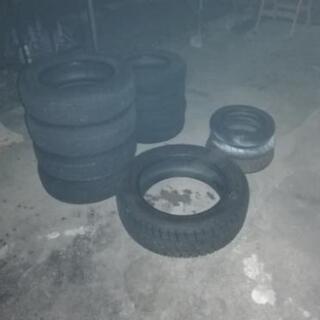 廃タイヤ 無料で差し上げます
