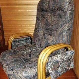【再値下げしました!】ジャガード織座椅子