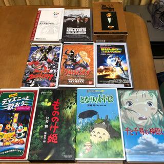 VHSテープ(トトロ、千と千尋 他)