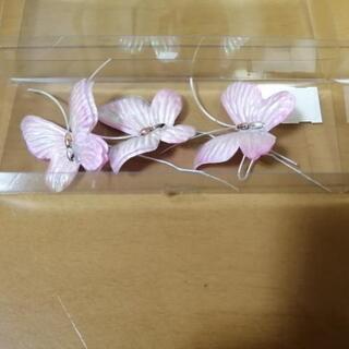 コサージュ 蝶