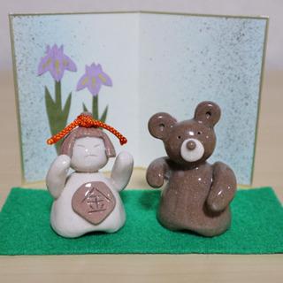 陶芸体験教室⭐︎五月人形をつくろう