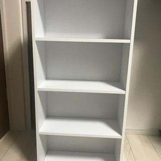 本棚(ホワイト)